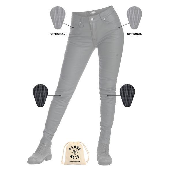 Pando Moto Lorica Kev 01 Womens Jeans