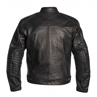 Helstons Buffalo Black Leather Jacket