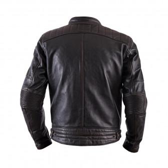 Helstons Track Oldies Brown Leather Jacket