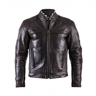 Helstons Trust Dirty Brown Leather Jacket