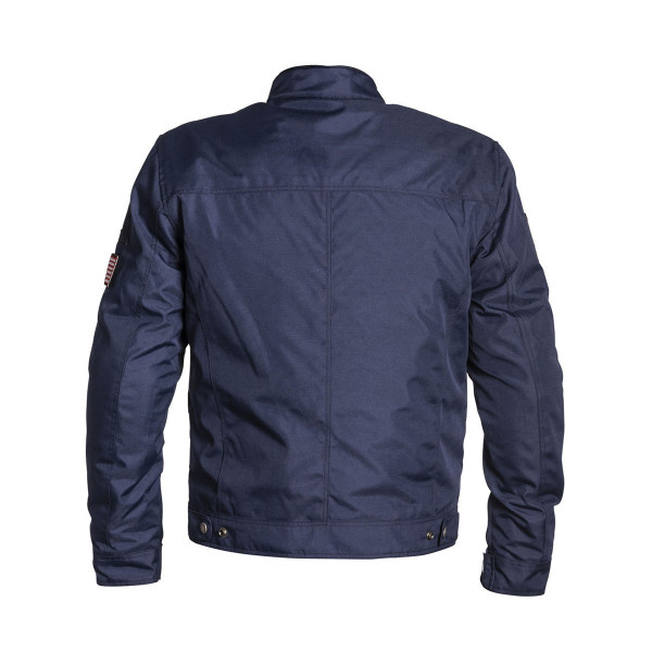 Helstons Cobra Blue White Textile Jacket