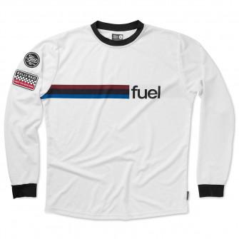 Fuel Rally Raid Jersey White