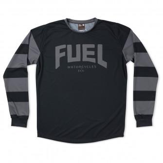 Fuel Grey Stripes Enduro Jersey
