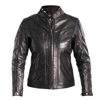 Helstons Ladies Sarah Black Leather Jacket
