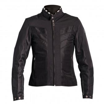 Helstons Ladies Sarah Black Mesh Textile Jacket