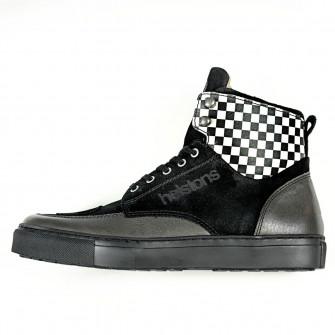Helstons Utah Black Leather Boots