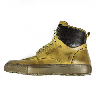 Helstons Ladies Sporty Peach Leather Boots