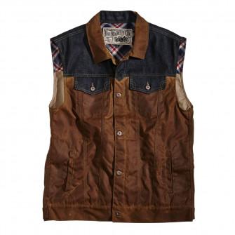 Rokker Waxed Cotton Vest