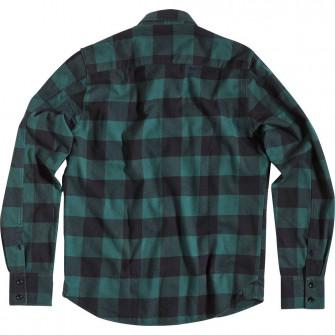 Rokker Denver Check Shirt Green