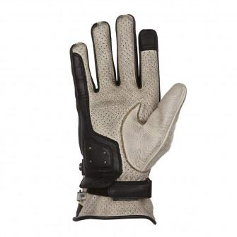 Helstons Eagle Beige/Black Summer Gloves