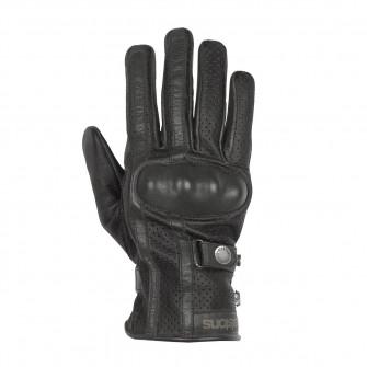 Helstons Eagle Black Summer Gloves