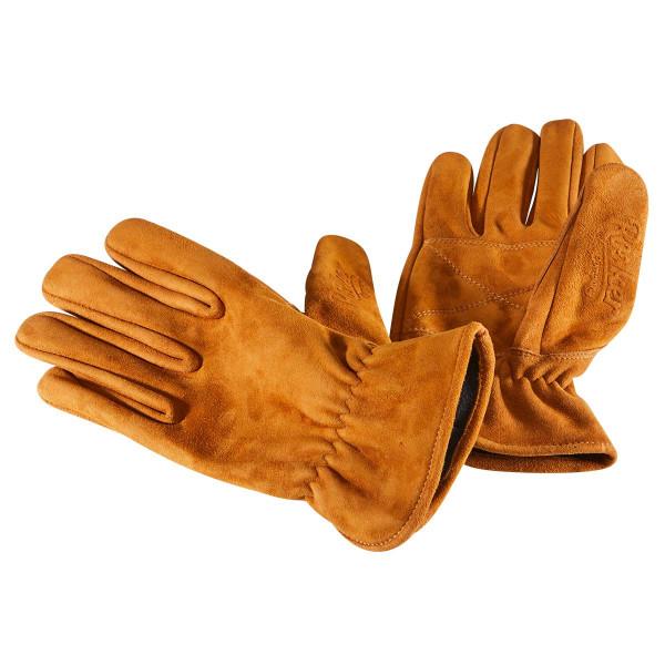 Rokker Nubuck Gloves Brown