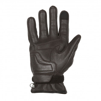 Helstons Strada Brown Leather Gloves