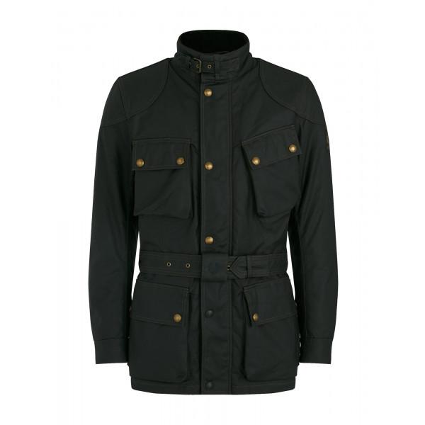 Belstaff Trialmaster Pro Waxed Cotton Jacket - Black
