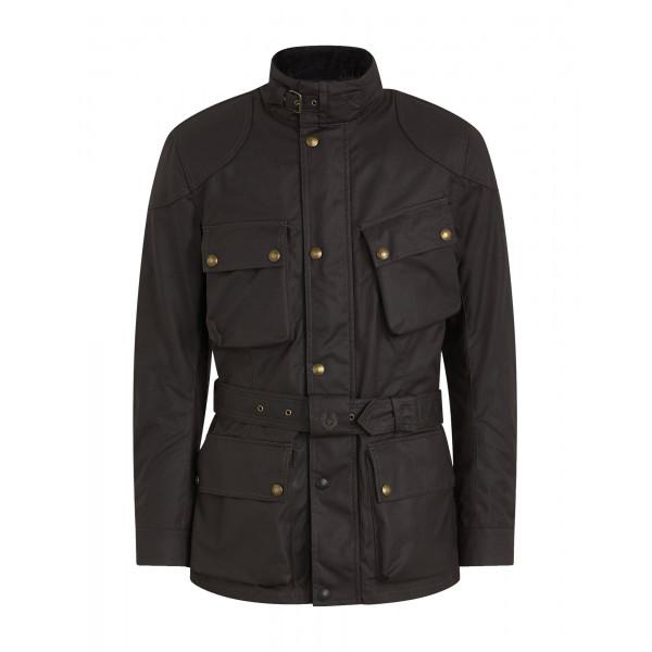 Belstaff Trialmaster Pro Waxed Cotton Jacket - Mahogany