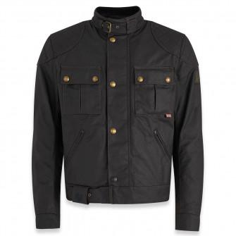 Belstaff Brooklands 2.0 Waxed Cotton Jacket - Black