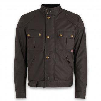 Belstaff Brooklands 2.0 Waxed Cotton Jacket - Mahogany