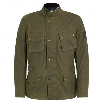 Belstaff Crosby Waxed Cotton Jacket - Forest Green
