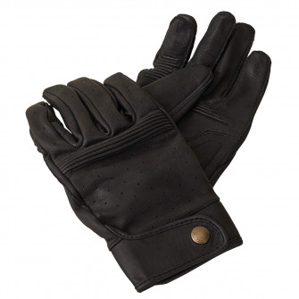 Belstaff Montgomery Leather Gloves - Black