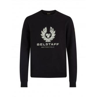 Belstaff Olsen Crew Neck Sweatshirt  - Black