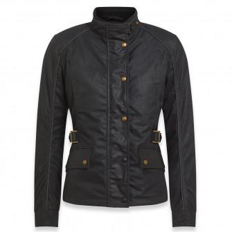 Belstaff Tourmaster Pro Ladies Waxed Cotton Jacket - Black