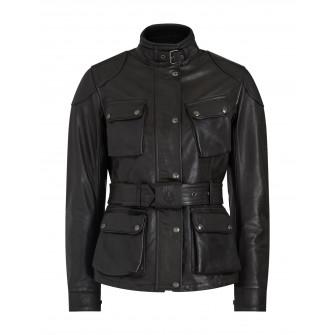 Belstaff Trialmaster Pro Hand Waxed Leather Jacket - Antique Black