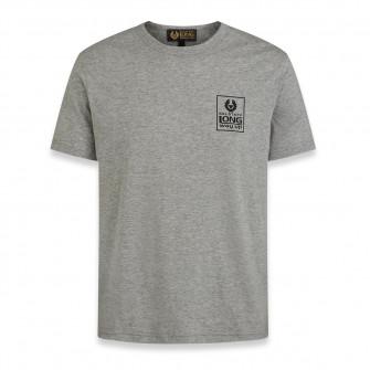Belstaff Long Way Up Small Logo Short Sleeve T-Shirt Grey