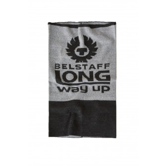 Belstaff Long Way Up Neck Warmer Light & Dark Grey