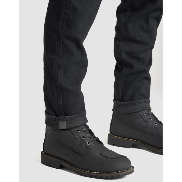 Pando Moto Steel Black 02 Men's Jeans