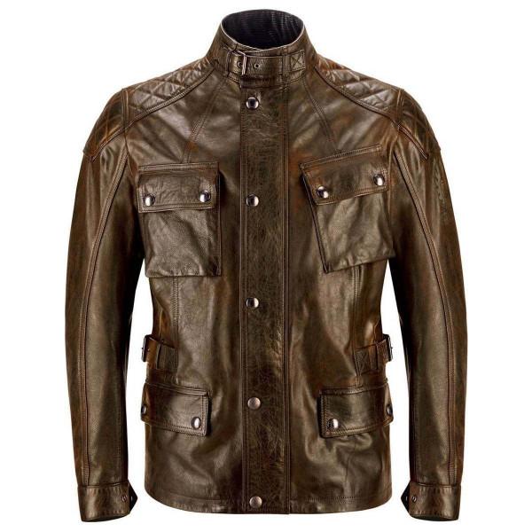 Belstaff Turner Leather Jacket - Cuero