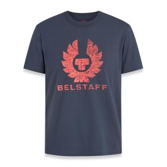 Belstaff Coteland T-Shirt Deep Indigo Flare