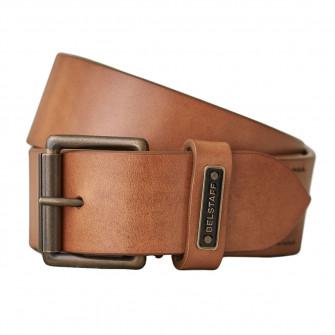 Belstaff Ledger Leather Belt - Chestnut