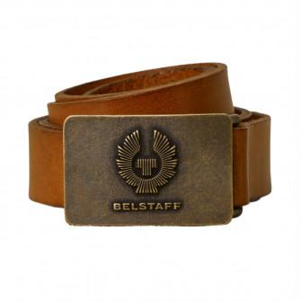 Belstaff Phoenix Leather Belt - Chestnut