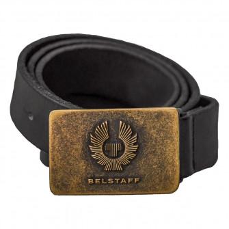 Belstaff Phoenix Leather Belt - Black