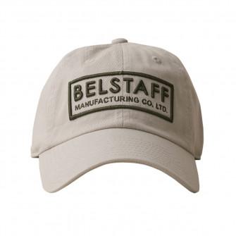 Belstaff Box Logo Baseball Cap - Stone