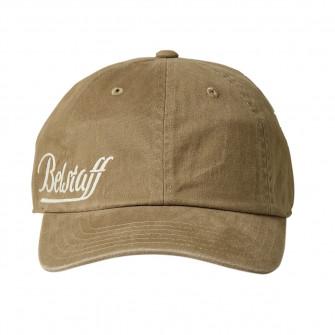 Belstaff Script Logo Baseball Cap - Faded Khaki