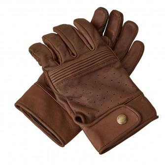 Belstaff Montgomery Leather Gloves - Oxblood