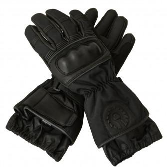 Belstaff Cannon Leather Gloves - Black