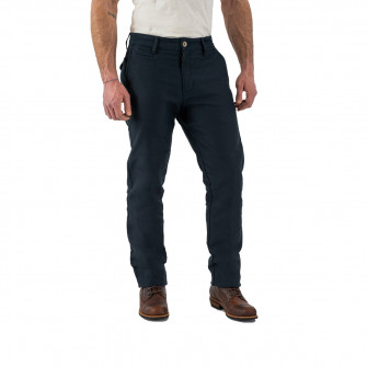 Rokker Chino Navy Trousers