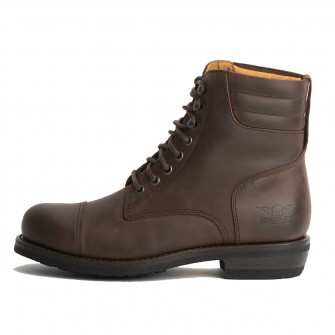 Rokker Urban Racer Boot - Dark Brown