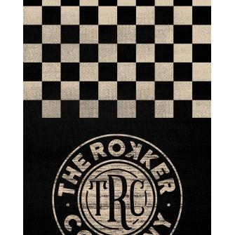 Rokker Neck Warmer Checker Board Black