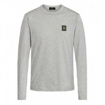 Belstaff Long Sleeve T-Shirt Grey