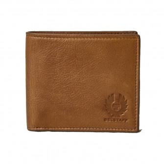 Belstaff Bi-Fold Wallet Leather Tan