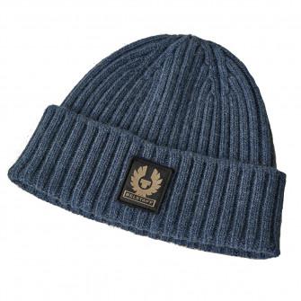 Belstaff Watch Wool Hat Racing Blue