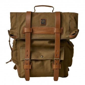 Belstaff Covert Backpack Canvas Beige