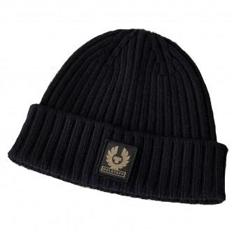 Belstaff Watch Wool Hat Dark Navy