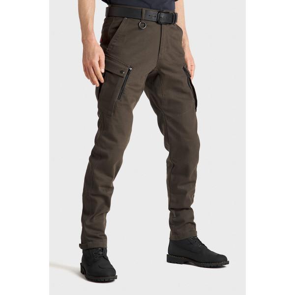 Pando Moto Mark Kev 02 Olive Mens Cargo Pants