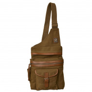 Belstaff Holdster Bag Canvas Beige