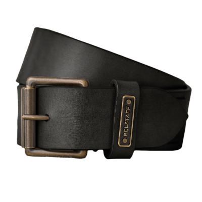 Belstaff Ledger Leather Belt - Black