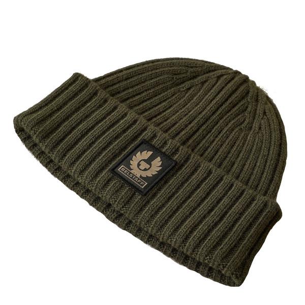 Belstaff Watch Wool Hat Military Green